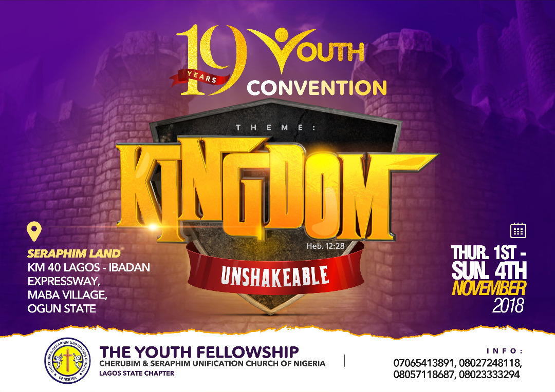 YOUTH CONVENTION OF 1ST - 4TH NOVEMBER