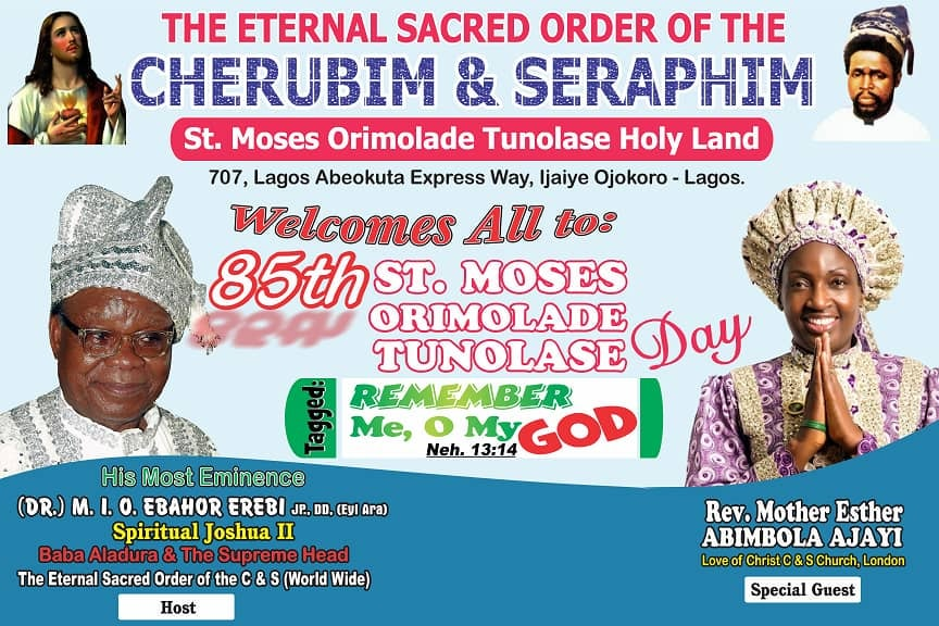 85th ST MOSES ORIMOLADE TUNOLASE DAY
