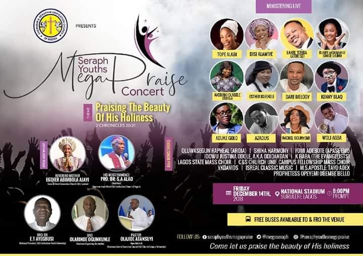 Seraph Youths Mega Praise Concert