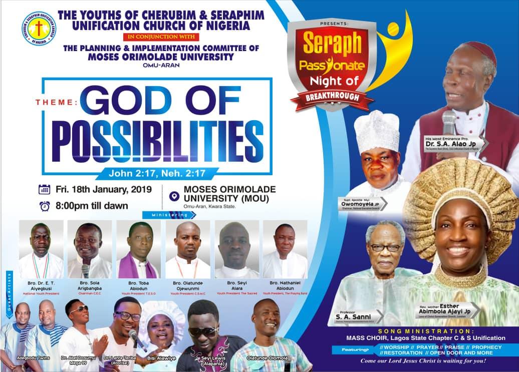 Seraph Passionate Night of Breakthrough