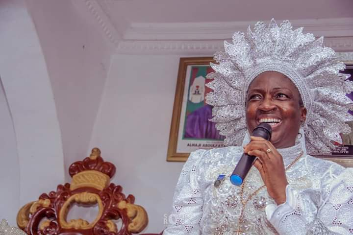 Rev.Mother Esther Ajayi unveils new plans for seraph at worker's dinner