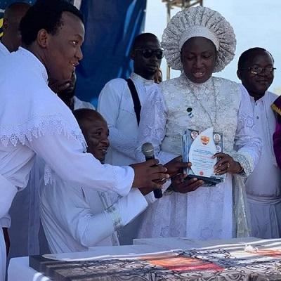 REV.MOTHER ESTHER AJAYI - THE UNIFIER OF WHITE GARMENT CHURCHES