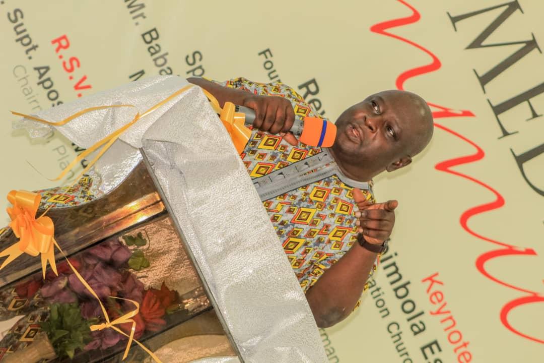 THE CHURCH  IS  GOD'S MEDIA , DESIGNED TO SPREAD THE GOODNEWS OF  HIS KINGDOM  TO THE  WORLD - Mr Kolade Otitoju