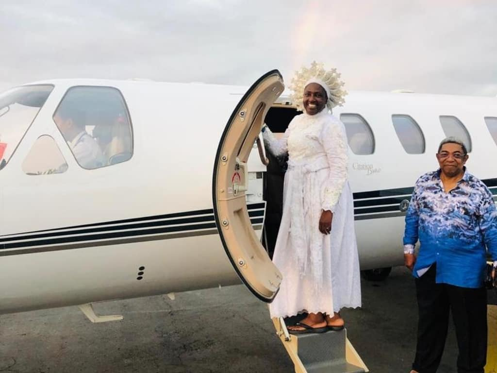 REVEREND  MOTHER ESTHER ABIMBOLA AJAYI  JOINS PRIVATE JET LEAGUE OF PASTORS