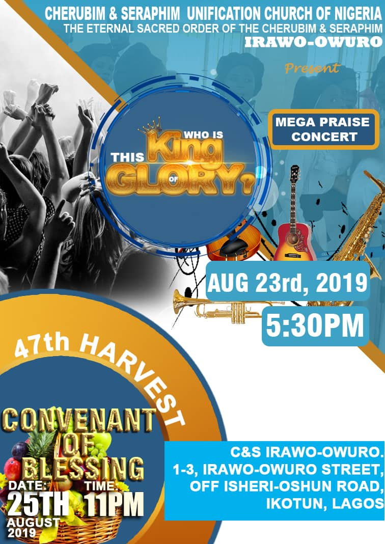 C&S Church Irawo Owuro holds Concert, Harvest