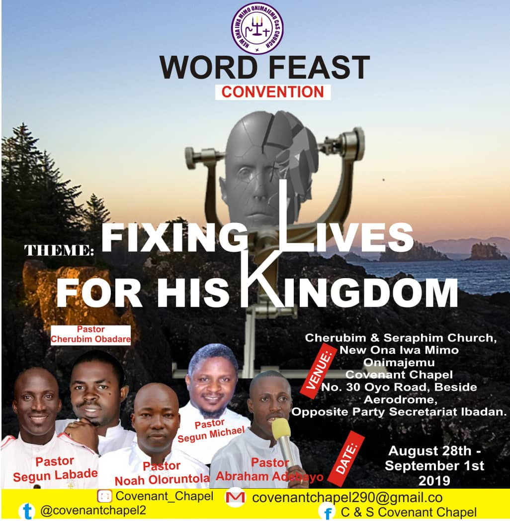 WORD FEAST CONVENTION: FIXING LIVES FOR HIS KINGDOM