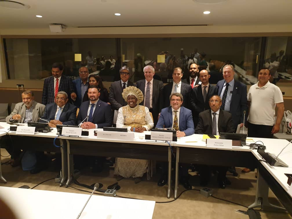 MOTHER AJAYI AT UN CONDEMNS XENOPHOBIA