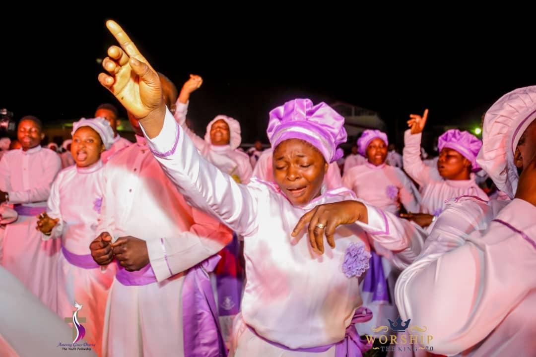 WORSHIP THE KING 7.0: AMAZING GRACE YOUTH FELLOWSHIP CELEBRATES 21YEARS OF GOD'S FAITHFULNESS