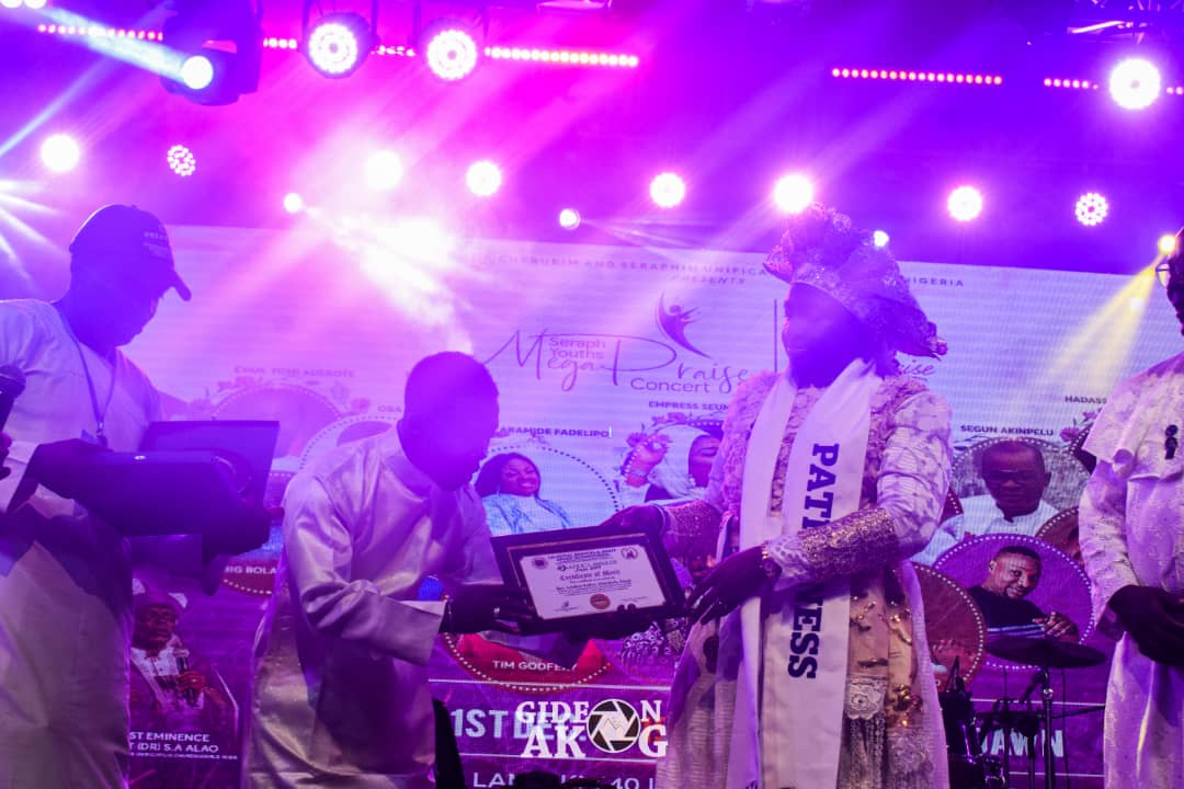 Rev. Mother Esther Ajayi Awarded Woman Of The Year 2019 And Two Other Honorary Awards.