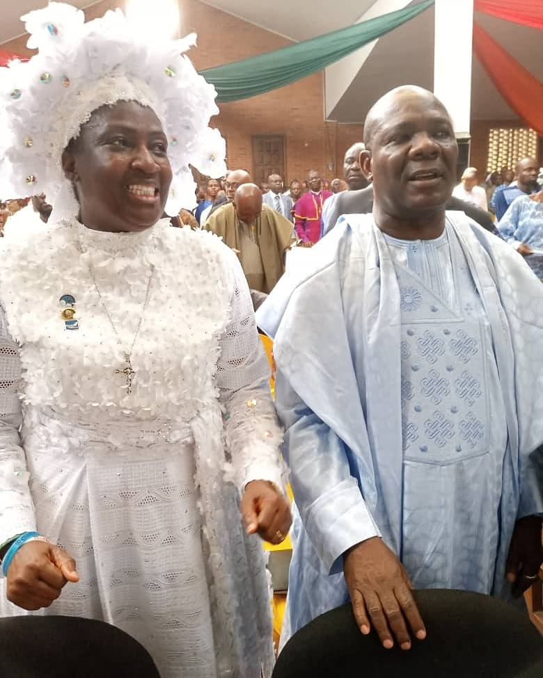 Mother Ajayi at Obasanjo Thanksgiving Service Preaches Peace, Love