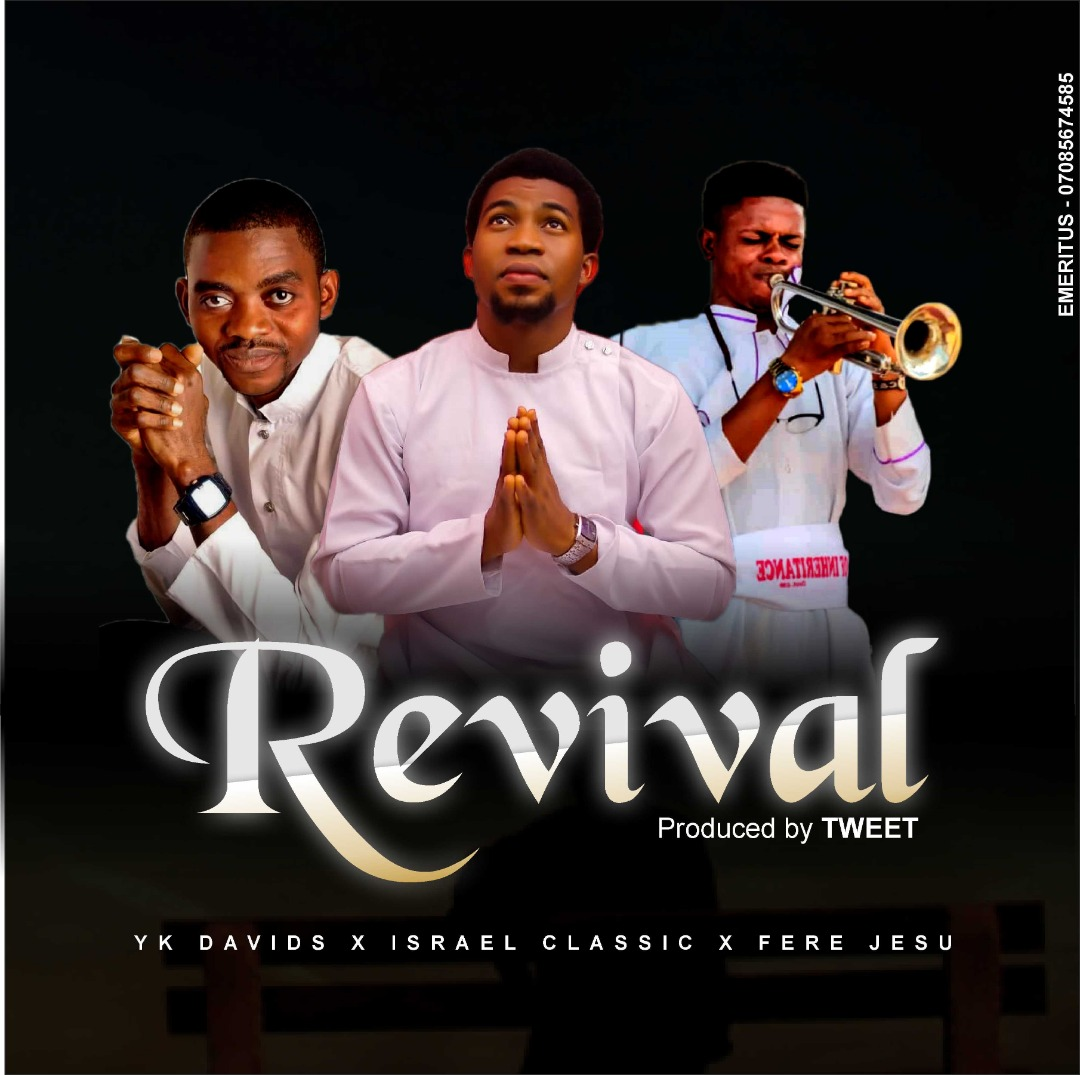 """YKDAVIDS, ISRAEL CLASSIC, FERE JESU RELEASE """"REVIVAL,"""" A SOUL LIFTING SONG"""