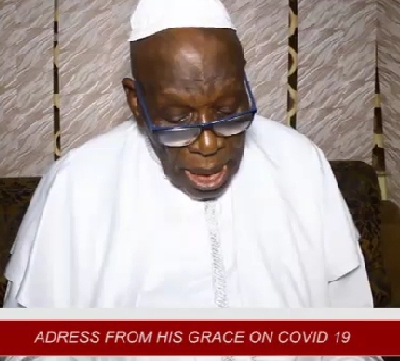 Covid-19 Outbreak - Federal Government Gets Thumbs-Up From C&S Movement Church Head