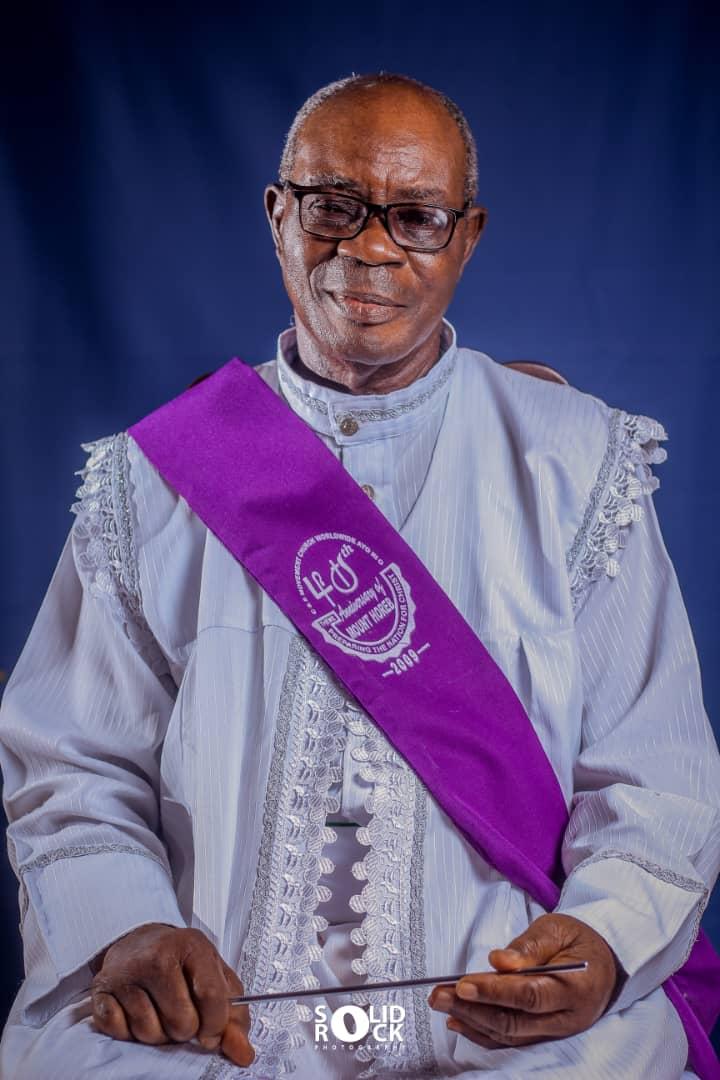 BREAKING: Special Apos. Pro. Dr. Solomon Olanrewaju Aiyegbusi  of CSMC Amazing District Joins the Saint