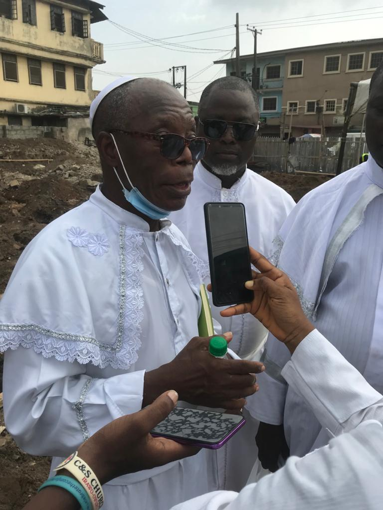 It's The Lord's Doing  Says Elder J.O Adagba as C&S Unification Lagos State Chapter Commences Building of New Secretariat