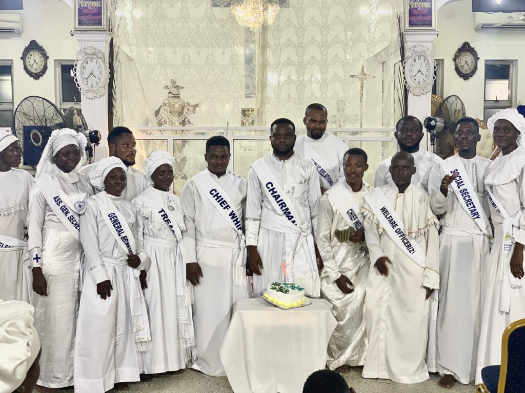 Lagos Mainland Youth Fellowship Kicks Off As New Officers are Inducted