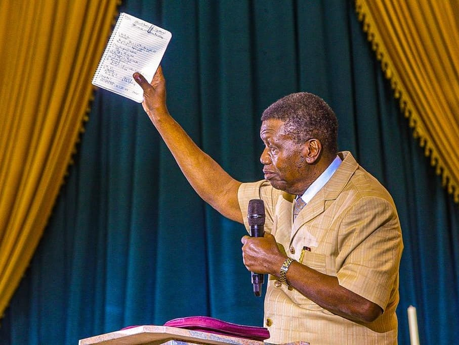 LOC CATHEDRAL: GOD INSTRUCTED ME TO HONOUR THE INVITATION - ADEBOYE