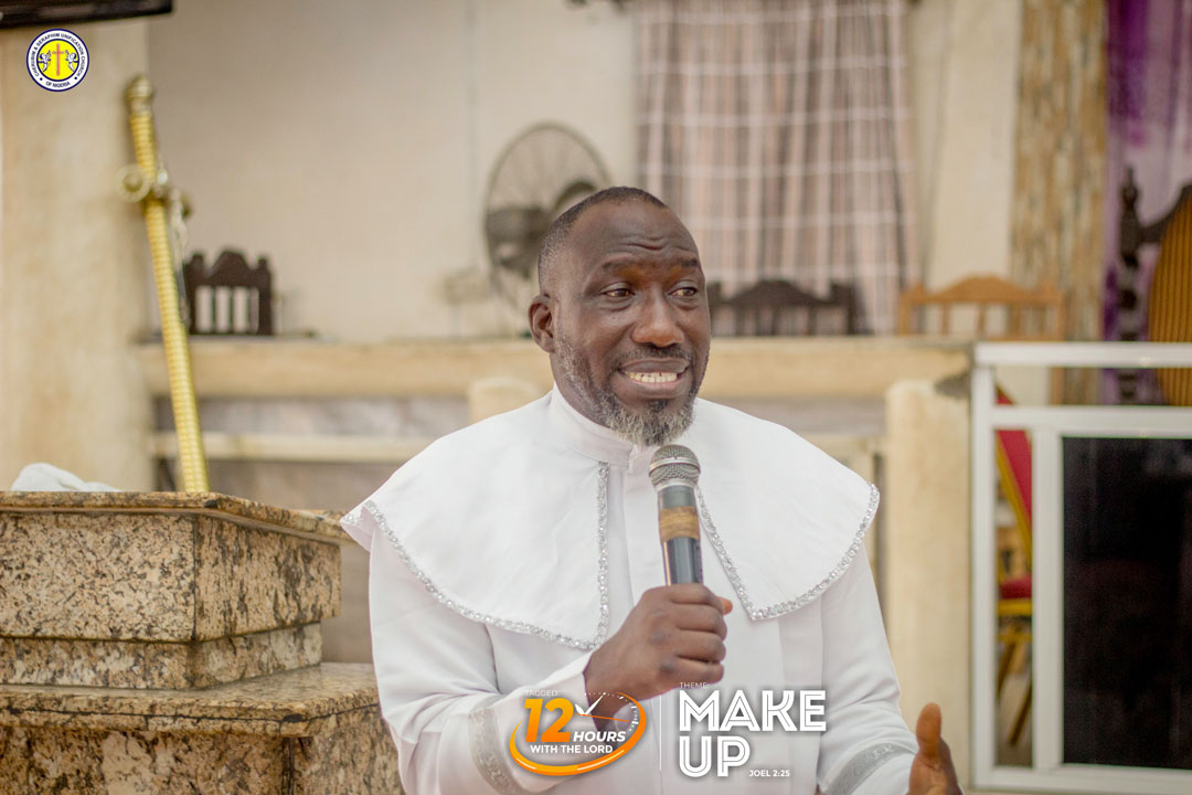 ODEDINA urges youth to speak positively about the church at all times.